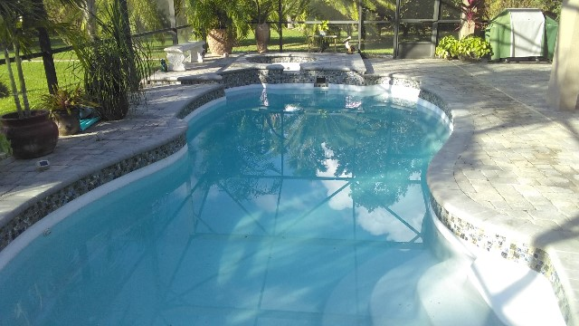 Home fiberglass swimming pool tiling click to enlarge these before and after pictures ppazfo